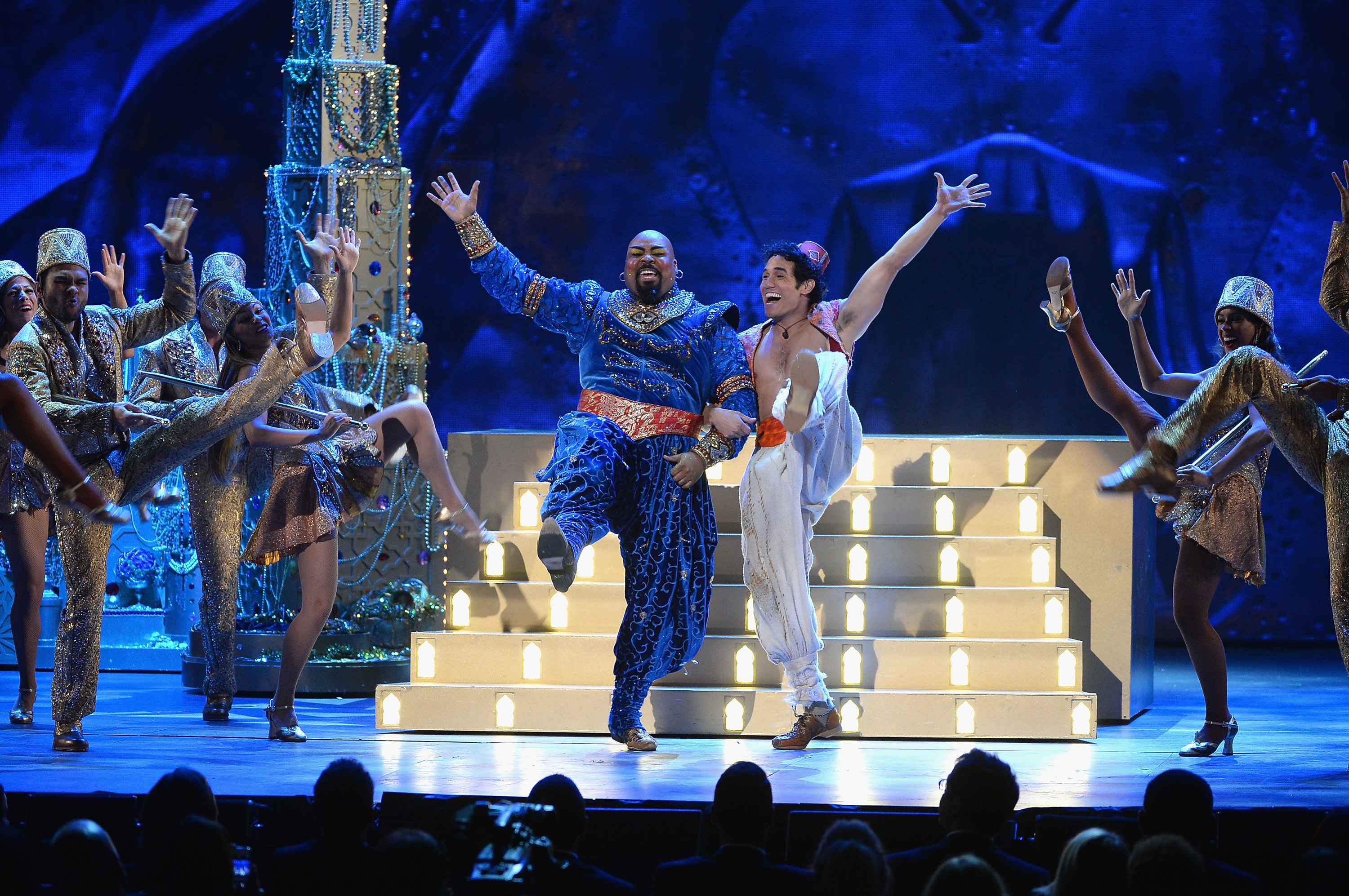 A diamond in the rough aladdin on broadway review the for The broadway